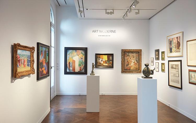 Virtual tour: 20th/21st Centur auction at Christies